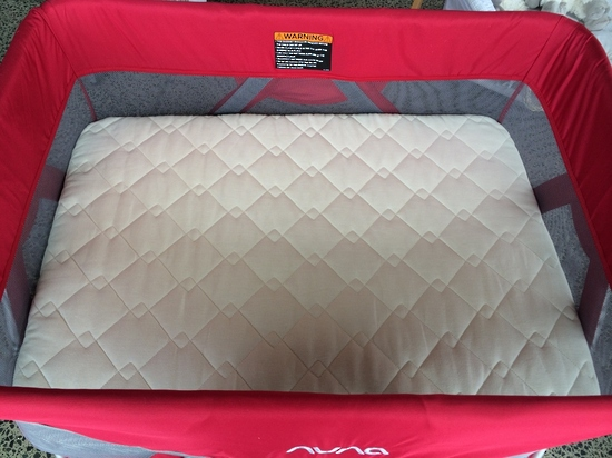 Nuna Sena Travel Cot Endorsed By Dorothy Waide