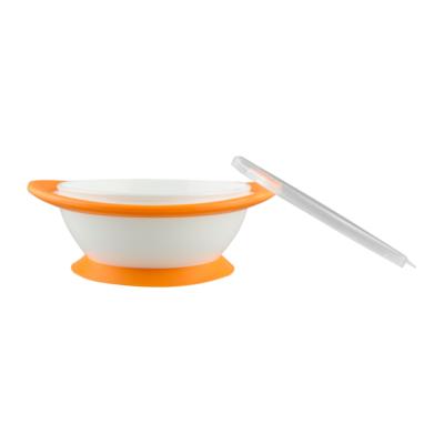 NUK No-mess Suction Bowls orange