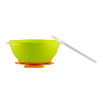 NUK Tri-Suction Bowls green