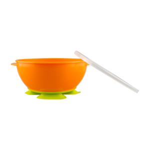 NUK Tri-Suction Bowls orange