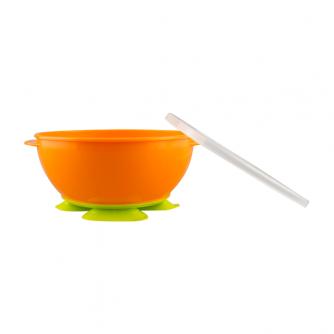 NUK Tri-Suction Bowls orange